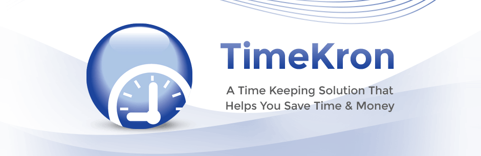 TimeKron, time tracking software