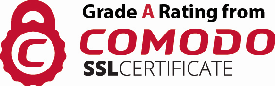 Grade A Comodo SSL Certification