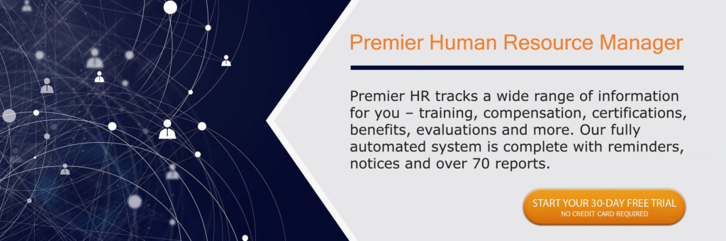 Call to action button fro Premier HR Manager