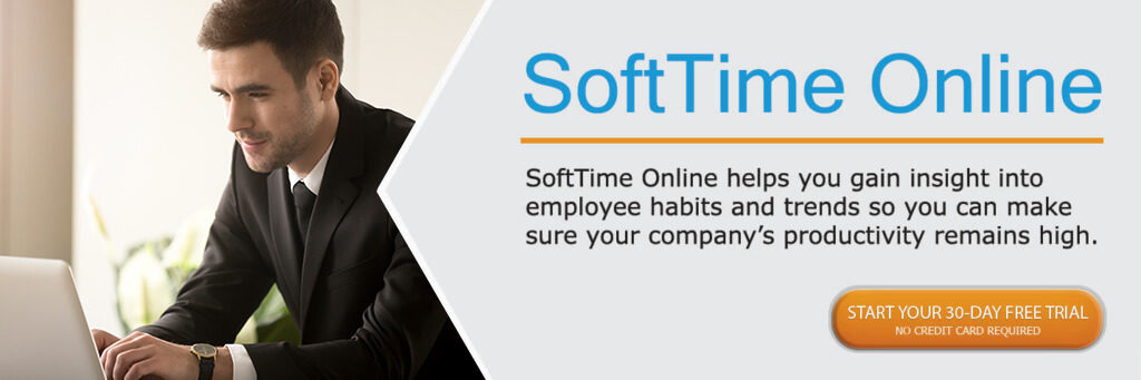 Software Techniques SoftTime Online Time and Attendance Software free 30 day trial button