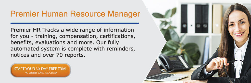 Software Techniques Premier Human Resource Manager,  HR Software 30 day free trial button