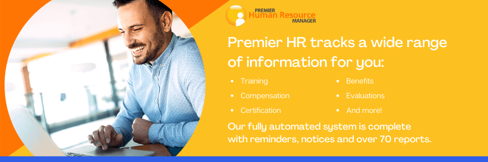 Premier HR CTA and Features Easy to use Human Resources Software